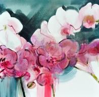 Orchid 2 of 3 60 x 60 x 2.5 cm ZAR9,000