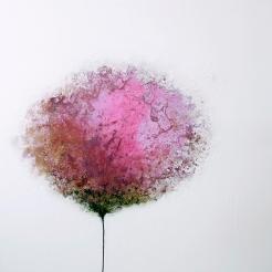 Pink Peonie 90 x 90 x 2.5 cm ZAR16,000